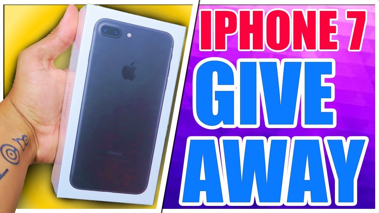 Iphone  Plus Giveaway