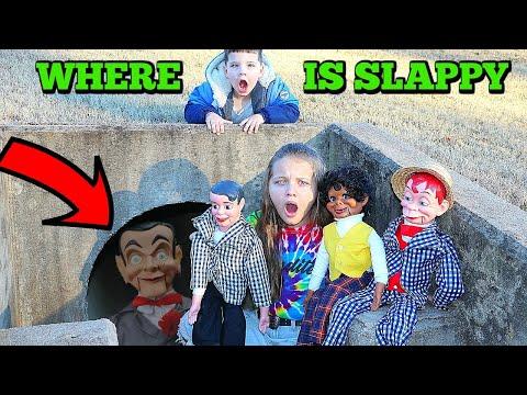 WHERE'S SLAPPY! Slappys Family Is BACK! Danny, Sheila & Billy The Dummy