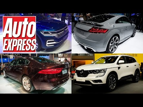Best cars at the Beijing Motor Show 2016