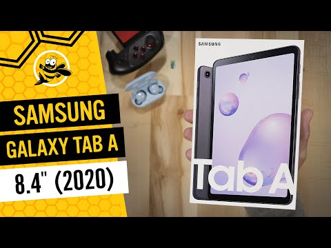 Samsung Galaxy Tab A 8.4 (2020) Unboxing And First Impressions