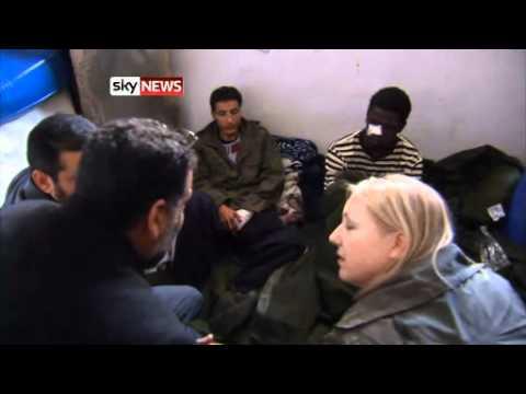 Libya  Zawiyah Protesters Gain Control Of Town West Of Tripoli   World News   Sky News