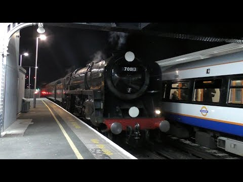 70013 Oliver Cromwell | The Sherborne Christmas Carol - 14.12.17