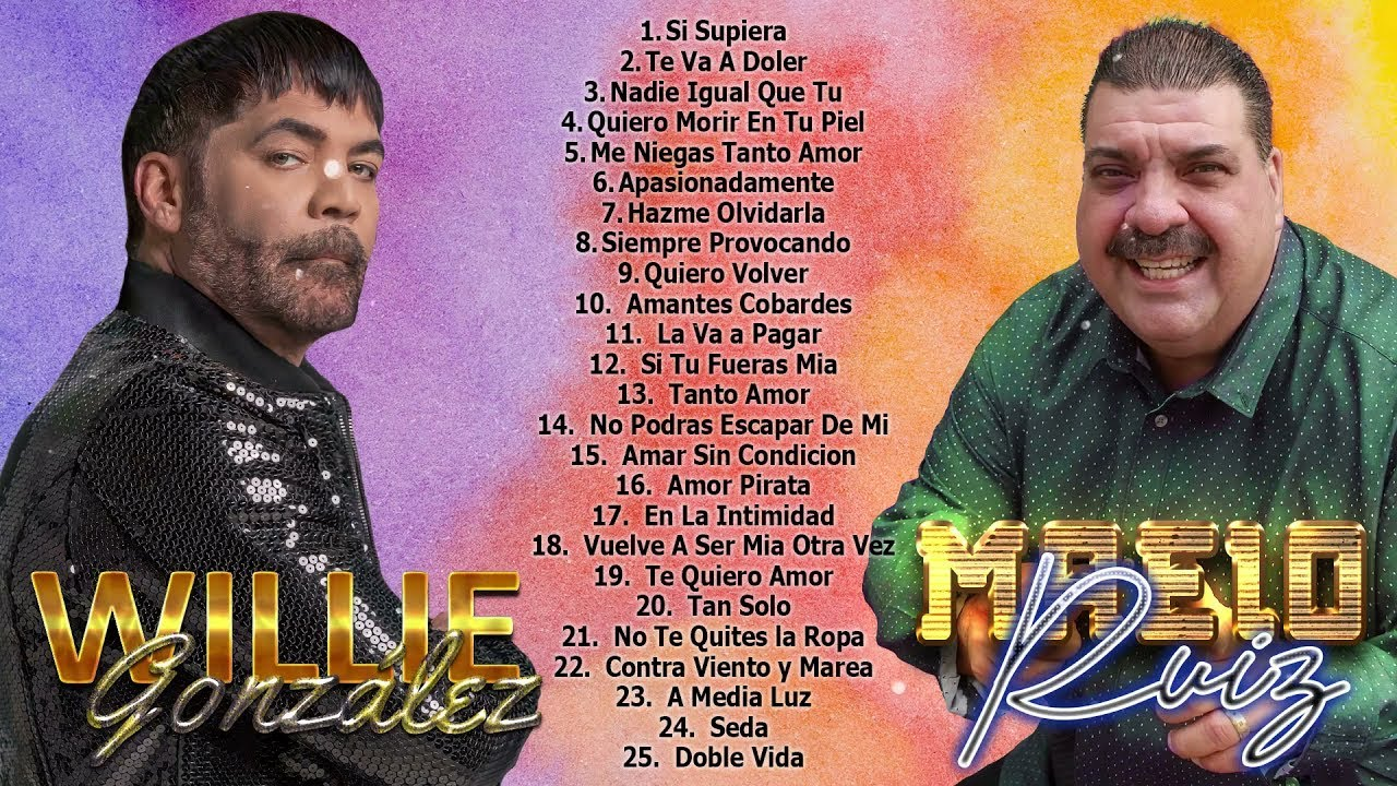 DOWNLOAD WILLIE GONZÁLEZ – MAELO RUIZ MIX GRANDES EXITOS   SALSA MIX 2021 Mp3 song