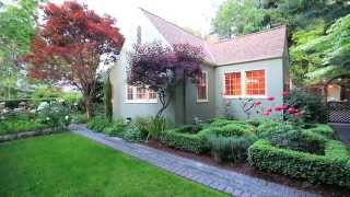 SOLD:  Enchanting English Cottage in the Heart of Allied Arts in Menlo Park, California