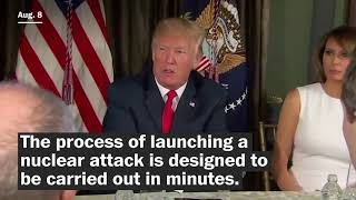 Here's how Trump could order a nuclear strike