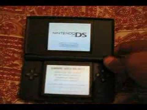 new red and black nintendo ds lite youtube. Black Bedroom Furniture Sets. Home Design Ideas