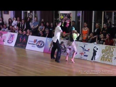 Tablisi Georgia Dancesport National Ranking 2016   Reziko Robakidze & Anuka Golodze