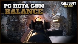 Most Underrated Gun in The PC Beta! | How is the Gun Balance in CoD WW2 Now?