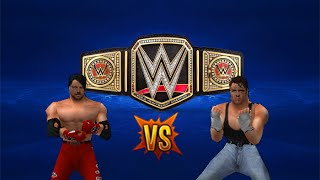 wwf no mercy mod 2k16 dean ambrose vs aj styles wwe world heavyweight championship