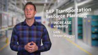 SAP Transportation Resource Planning (SAP TRP) - The official product tour video