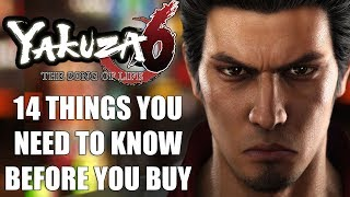 Yakuza 6 - 14 Things You NEED To Know Before You Buy