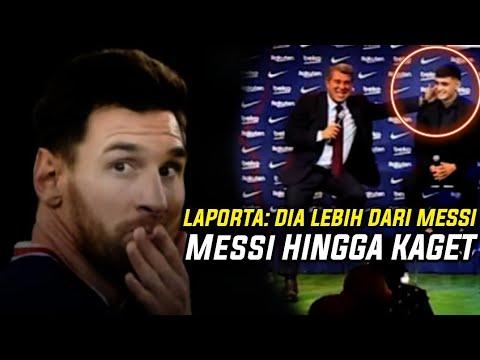 Download MESSI KAGET HARGA PEDRI😱 Inilah Reaksi Messi Saat Laporta Umumkan Kontrak Baru Bersama Barcelona