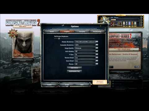 Company of Heroes 2 - Top 5 fixes