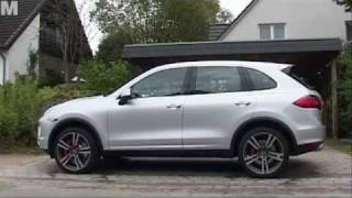 Test: neuer Porsche Cayenne Turbo 2011