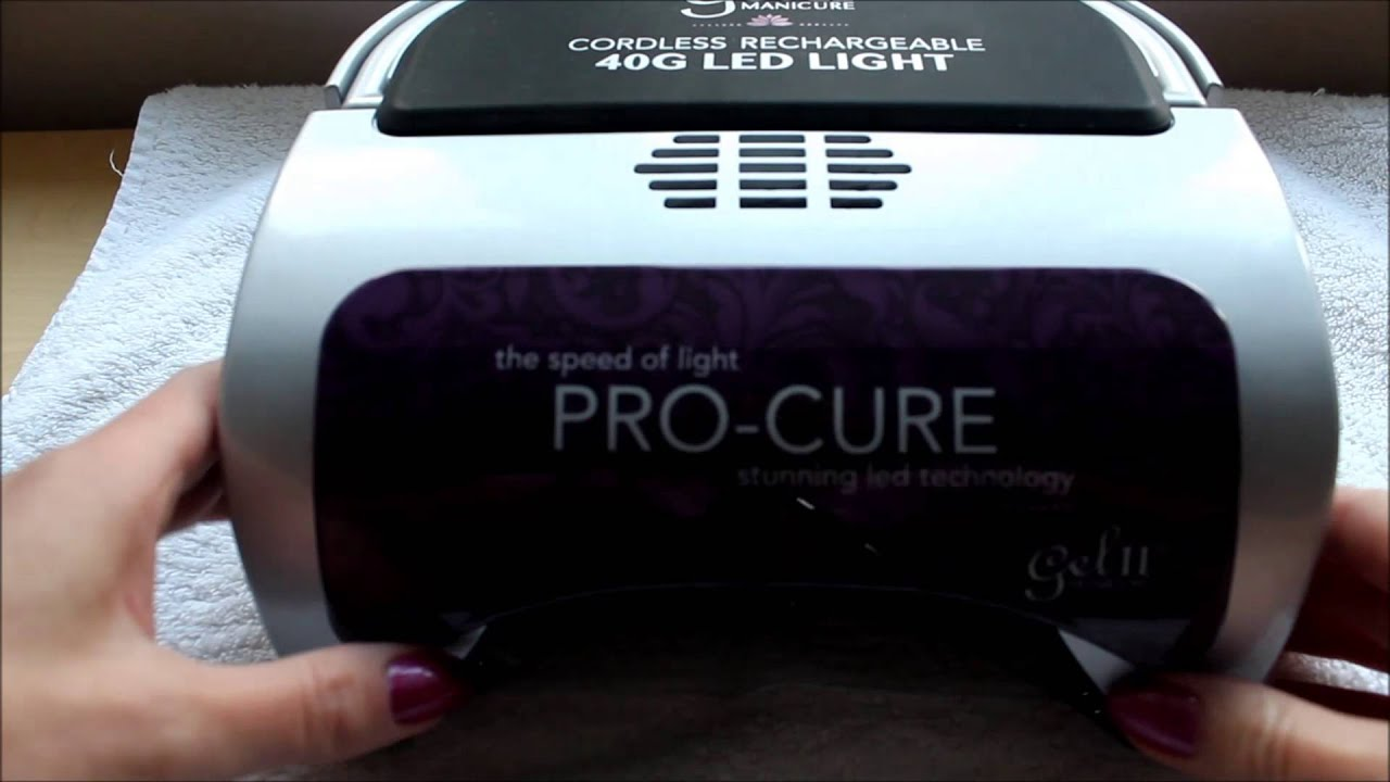 Manicure Uv Light Nail Dryer- HireAbility