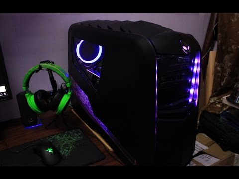 ALIENWARE AURORA R4 PC CASE MOD