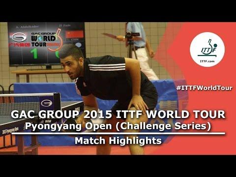 2015 Pyongyang Open Highlights: TO/RI vs ALKADI/HALLAK (R16)