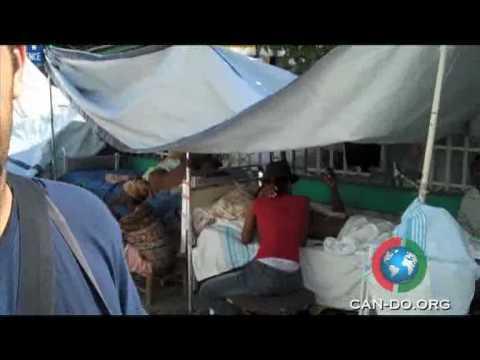 CAN-DO.ORG Project Haiti #2 - Hospital Drop