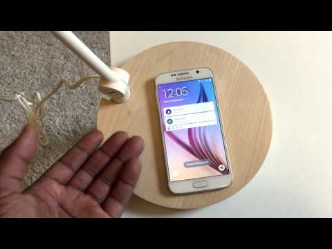 IKEA Wireless Charging Lamp and Bedside Table