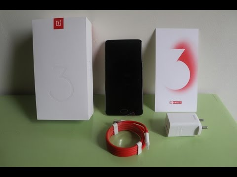 separation shoes 4575a 599dd Oneplus 3 Refurbished unboxing Ebay India - YouTube