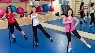 Упражнения с бодибаром. Фитнес. GuberniaTV