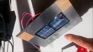 Profitez de l'énergie solaire pour faire tourner un moteur électrique