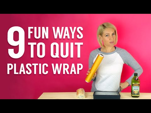 How to Quit Plastic Wrap: 9 Zero Waste Tips by Katie