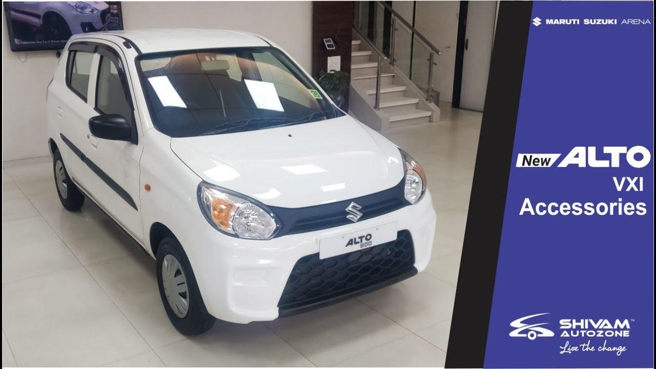 New Alto Vxi 2019 Accessories Interior Exterior Shivam Autozone Suzuki Suzuki Alto Alto Car