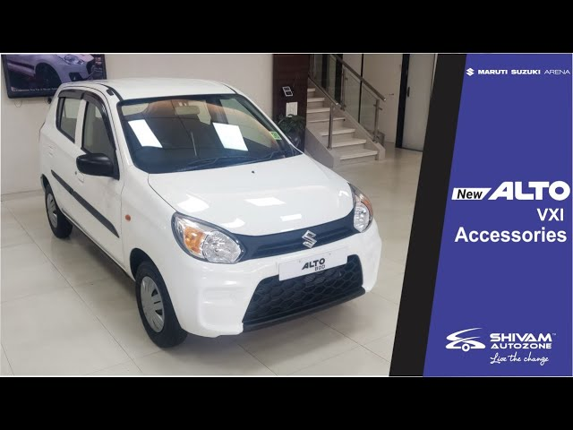 New Alto VXI 2019 | Accessories-Interior & Exterior | Shivam Autozone