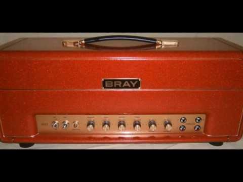 Bray 2022 Handwired 22 Watt Head in Red Sparkle