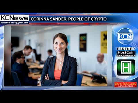 People of crypto - Corinna Sander