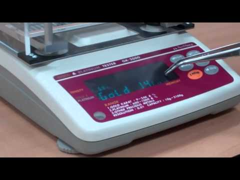 How to use your SCGK2000 Precious Metal Tester by Kassoy