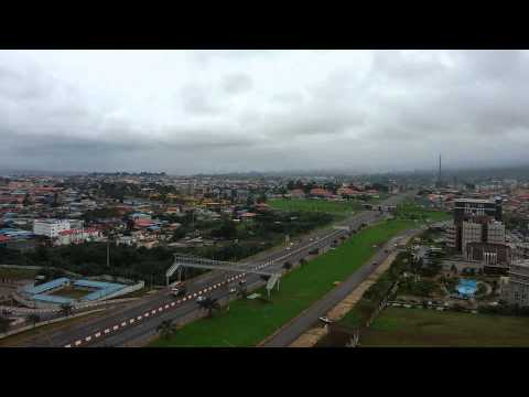 Malabo City view Equatorial Guinea
