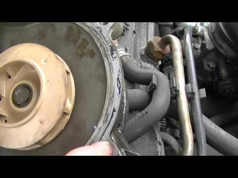 Saturn LW200 Water Pump Replacement Part 1