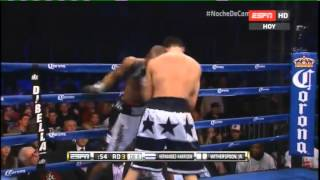 Dusty HERNANDEZ HARRISON vs Tim WITHERSPOON Jr - Resumen
