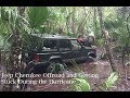 1996 Jeep Cherokee Offroad and Stuck During the Hurricane