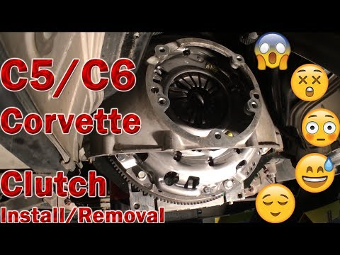 C5/C6 Corvette Clutch Removal and Install