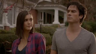 vuclip The Vampire Diaries: 8x16 - End Ending: Damon and Elena human together [HD]