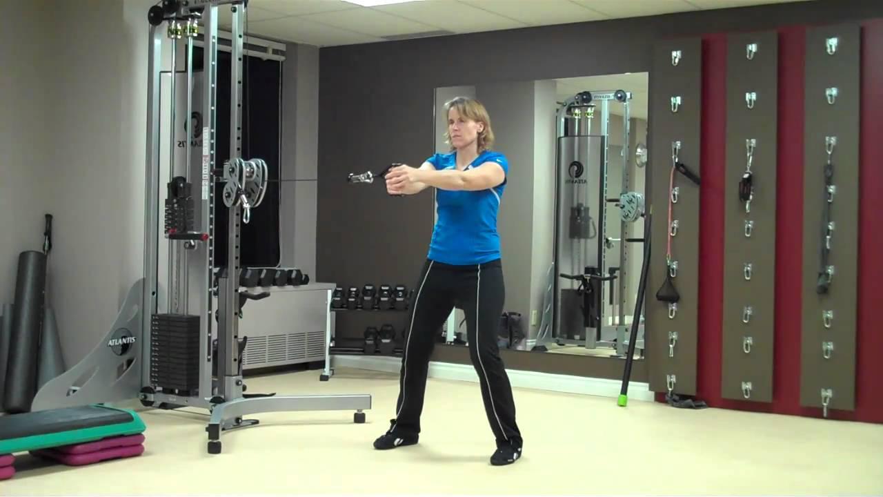 Ottawa Personal Trainer Cable Anti Rotation Pallof
