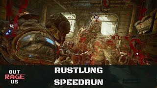Gears of War 4 - SPEEDRUN ON RUSTLUNG *RANK UP FAST* (INCONCEIVABLE)
