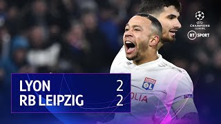 Lyon vs RB Leipzig (2-2) | UEFA Champions League Highlights