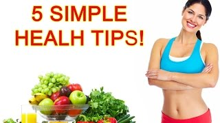 This video is about discovering good health tips for every person who interested in learning top 5 health, healthy eating tips, livi...