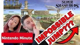 Download Super Smash Bros. Ultimate IMPOSSIBLE Jump Challenge w/ the Wheel of Fate | Nintendo Minute Mp3 and Videos