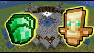 Simple Raid Farm (Emeralds, Totems and 70+ items) | 1.14.4-1.15.2+ Minecraft [CHECK description]