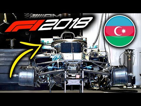 2018 Azerbaijan Grand Prix - Thur F1 Tech Round-Up (F1 2018 Baku)