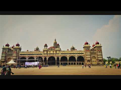 Mysore Palace | Flower & Light Show | Bangalore Weekend Trip | Around the Globe