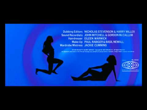 Intro 007 1969  On Her Majesty's Secret Service    Blu-Ray Full HD  .mp4