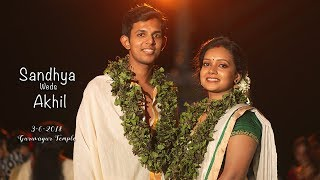 Dr.Sandhya Weds Dr.Akhil || Optimus Imaging || Instant Wedding Cinema