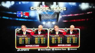 How to Unlock Obama, Bush, Palin, Clinton and More in NBA JAM Wii