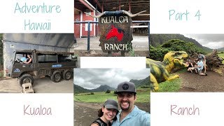 Adventure Hawaii Part 4// Kualoa Ranch// Jurassic Adventures